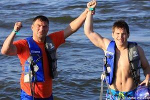 Dariusz i Nicolas Michalczewscy.