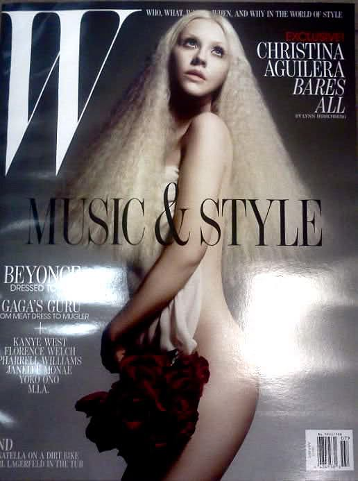 Christina Aguilera w