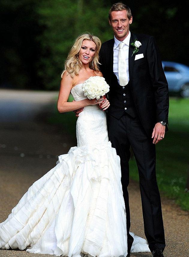 Peter Crouch i Abbey Clancy wzięli slub 30 czerwca 2011 roku