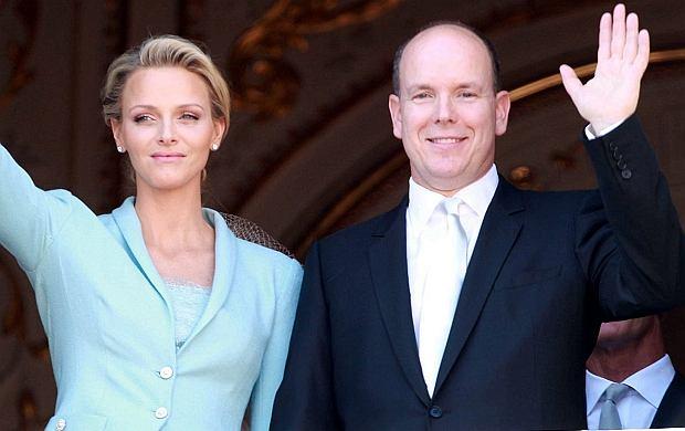 książę Monako Charlene Wittstock