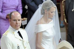 Książę Albert księżna Charlene.