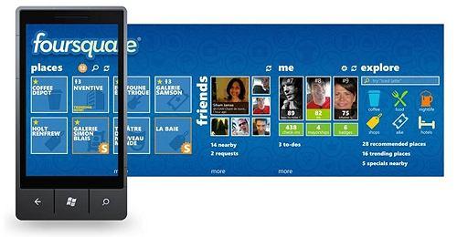 Oficjalna aplikacja Foursquare znów w Windows Phone Marketplace