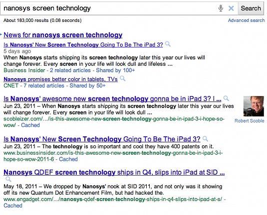 Google będzie pokazywał autorów interesujących treści