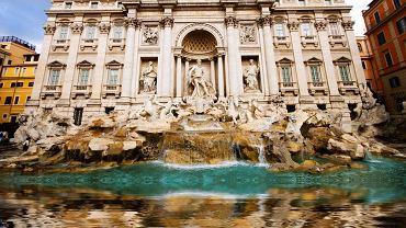 Rzym zabytki - Fontanna di Trevi, Włochy