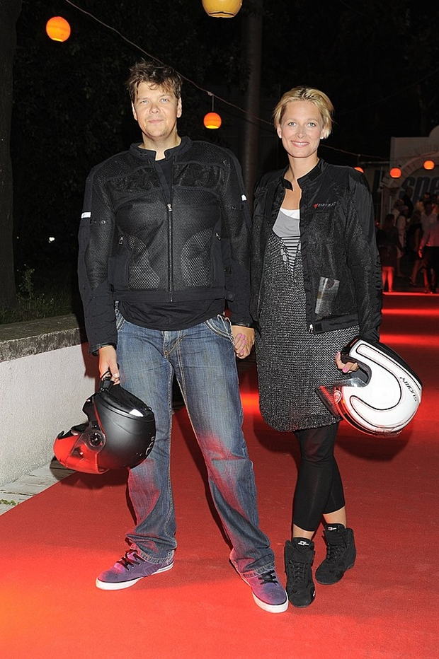 Michał Figurski i Odeta Moro-Figurska