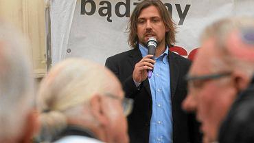 Agent Tomek pod namiotem Solidarnych 2010
