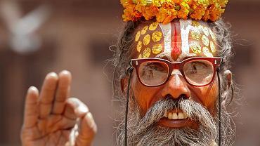 Indie. Mieszkaniec Delhi