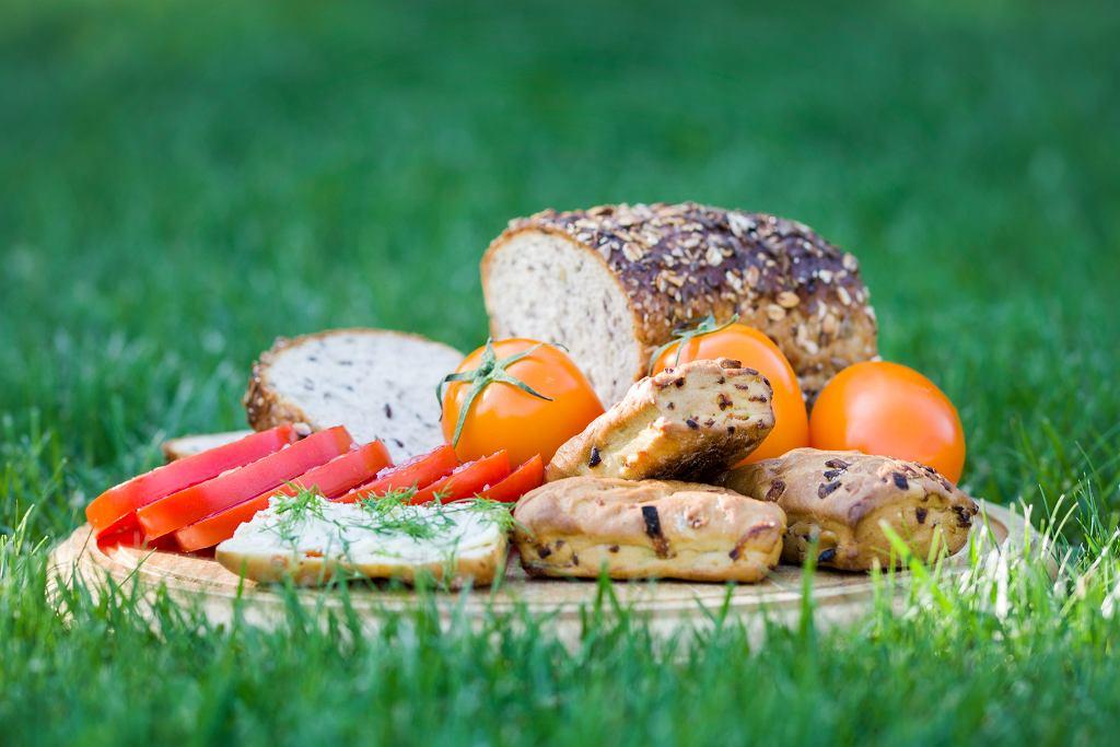 Chleb kołodziej i fafernuchy z marchewką