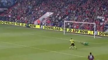 Błąd Artura Boruca w meczu z Bournemouth