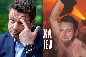 Rafał Trzaskowski po raz kolejny bohaterem memów. Internauci wyśmiewają się z jego akcji w klubie. Niektórzy popłynęli