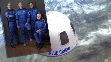 Jeff Bezos leci w kosmos już dzisiaj. O której startuje kapsuła Blue Origin?