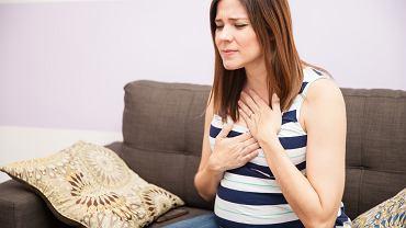 Zgaga w ciąży dotyka wielu kobiet. Zdjęcie ilustracyjne