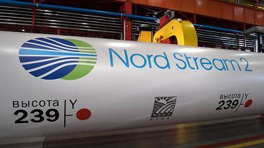 5.12.2016, Czelabińsk, produkcja rur, które będą użyte przy budowie rurociągu Nord Stream 2.