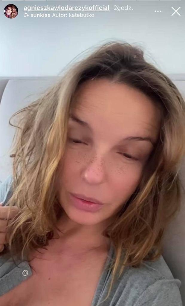 Agnieszka Włodarczyk o nieprzespanych nocach