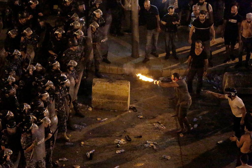 Antyrządowe protesty w Libanie