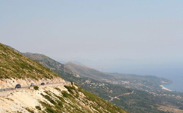 Przełęcz Llogara, Albania