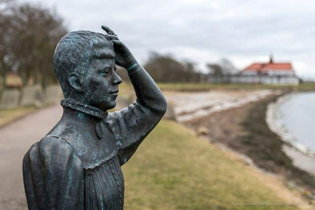 Rzeźba przedstawiająca najsłynniejszą mieszkankę Landskrony
