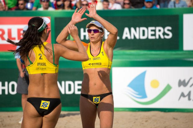 FIVB Beach Volleyball World Tour - SK Bank Mazury Grand Slam 2014