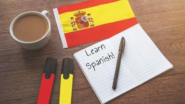 Zwroty po hiszpańsku. Zdjęcie ilustracyjne