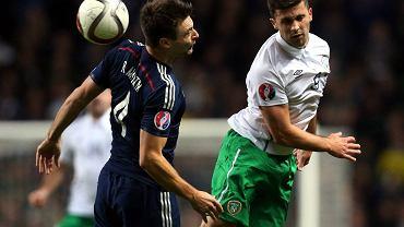 El. Euro 2016. Szkocja - Irlandia 1:0. Russell Martin i Shane Long