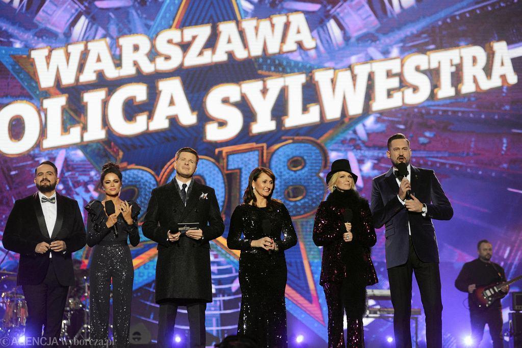 Sylwester 2018 w Warszawie
