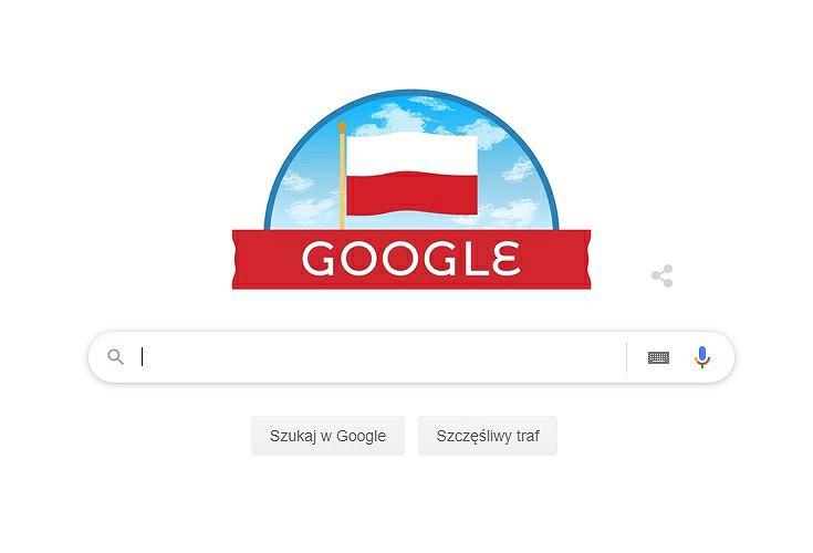 Święto Niepodległości 2019. Google Doodle