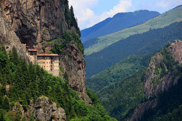 Klasztor Sumela położony niedaleko Trabzonu, Turcja / fot. Shutterstock
