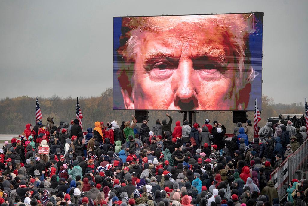 Election 2020 Michigan Trump