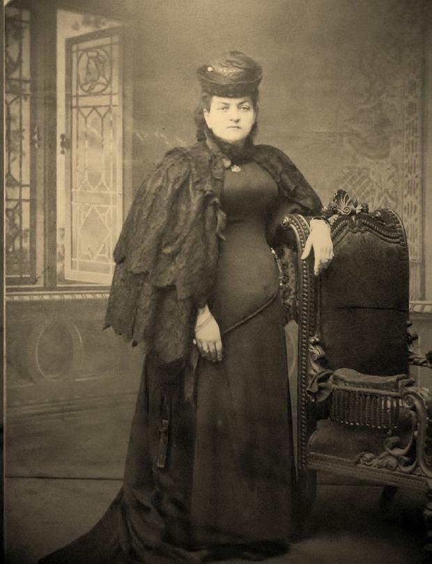 Teodora z Giebułtowskich Matejkowa (1846-96)