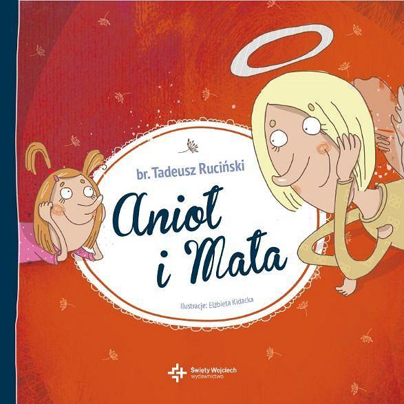'Anioł i Mała' br. Tadeusza Rucińskiego, okładka książki