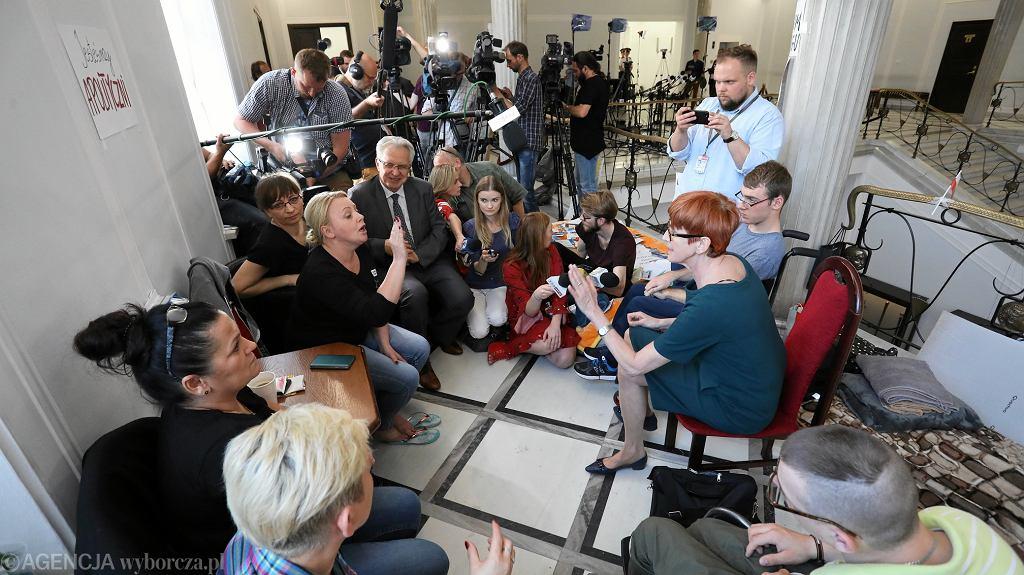 Protestu niepełnosprawnych w Sejmie. Nadal bez kompromisu z rządem PiS