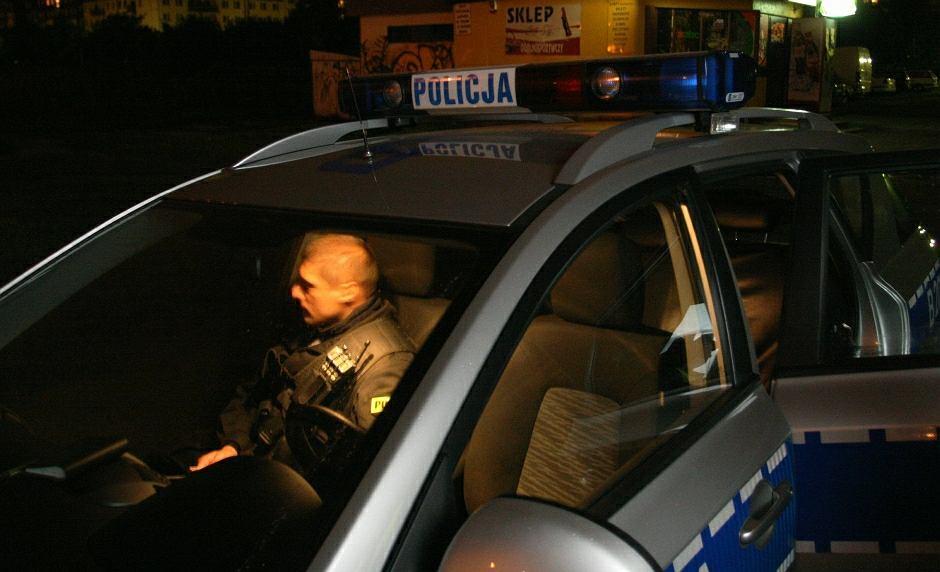 Patrol policji - zdjęcie ilustracyjne