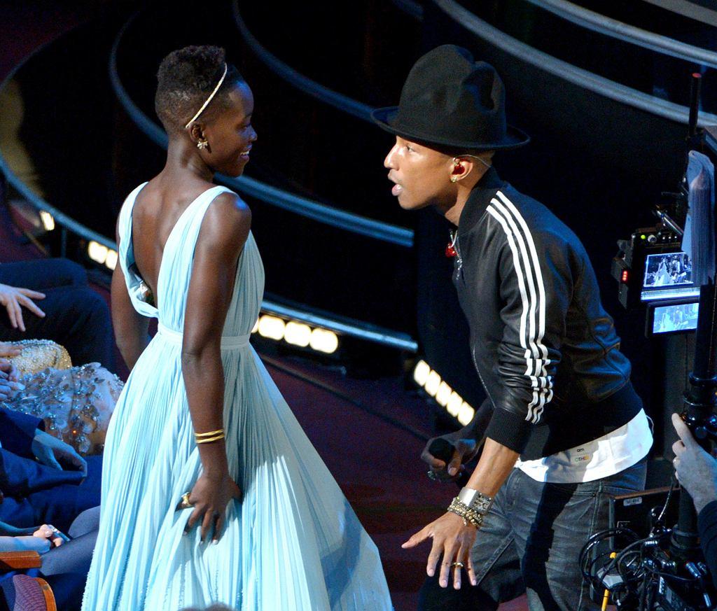 Pharrell Williams i Lupita Nyong'o