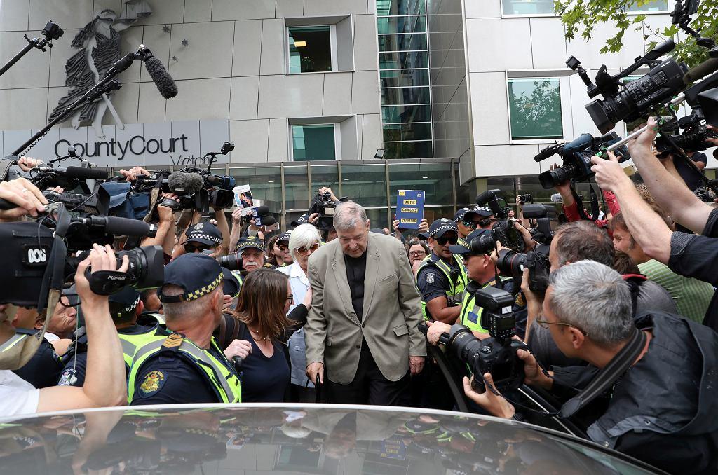 Kardynał George Pell skazany za wykorzystywanie seksualne dzieci