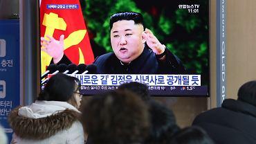 Przywódca Korei Płn. Kim Dzon Un