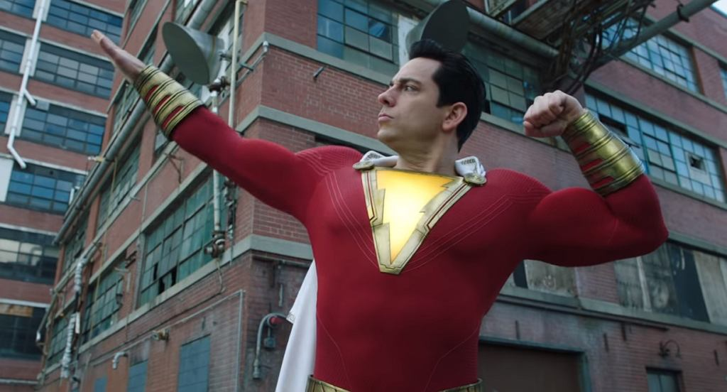 Program TV na niedzielę 26.04: kadr z filmu 'Shazam!', adaptacji komiksu DC Comics
