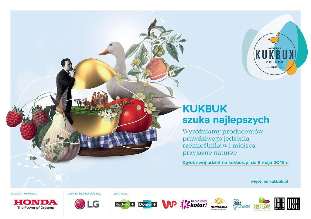 Ruszyła 3. edycja konkursu 'KUKBUK Poleca - odkrywamy dobra lokalne'! / mat. promocyjne