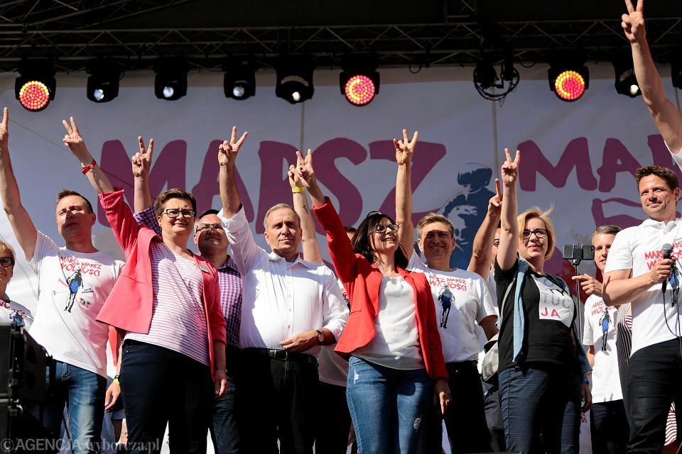 12.05.2018, Warszawa, Marsz Wolności.