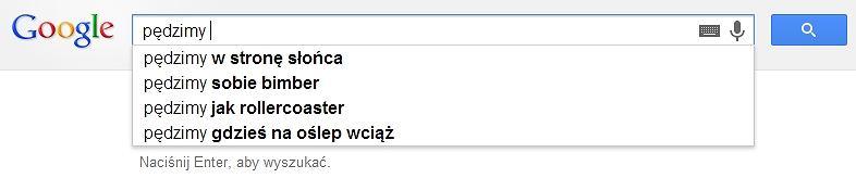 Wiersze Z Google Czyli Liryczny Obraz Polaków