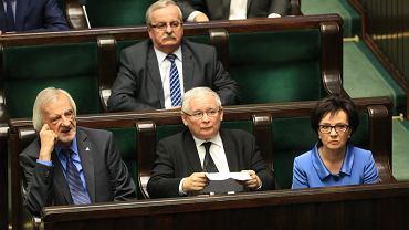 Na posiedzeniu poruszano m.in. sprawę Komitetu brony Demokracji