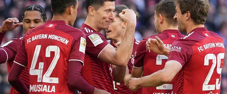 Bayern rozbił kolejnego rywala! Lewandowski wyrównał rekord