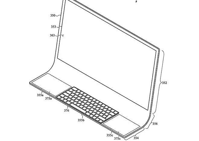 iMac patent od Apple