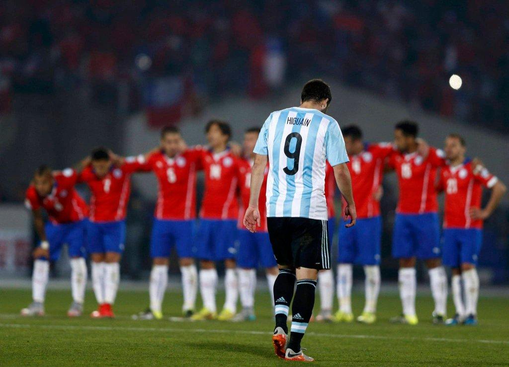 To od niecelnego strzału Higuaina z jedenastu metrów zaczęły się kłopoty Argentyny