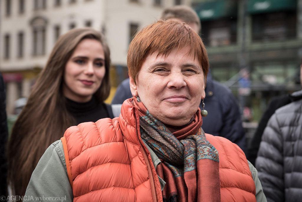 Wybory 2020. Janina Ochojska krytykuje Andrzeja Dudę