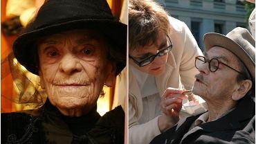 Babka Kiepska, Nikifor - z tych ról pamiętamy Krystynę Feldman. Niewielu zna jej historię miłosną