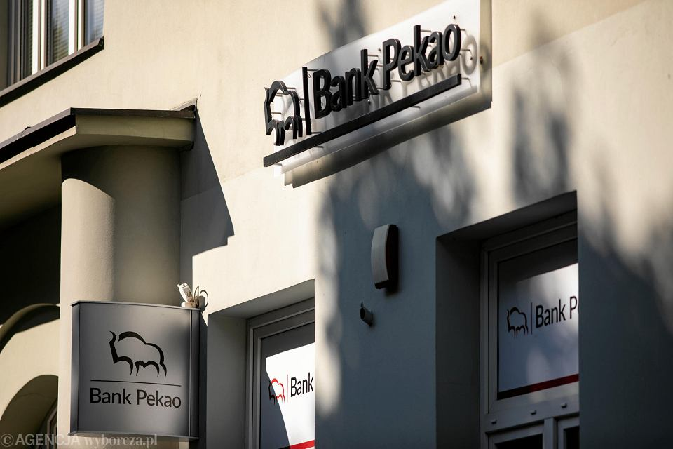 Placówka Bank Pekao SA w Warszawie, 20 czerwca 2018