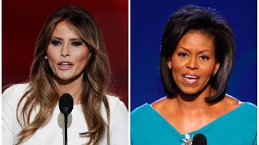 Żona Trumpa podziwia Michelle Obamę?