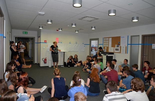 Uczestnicy 'My Future in Technology' w biurze Objectivity