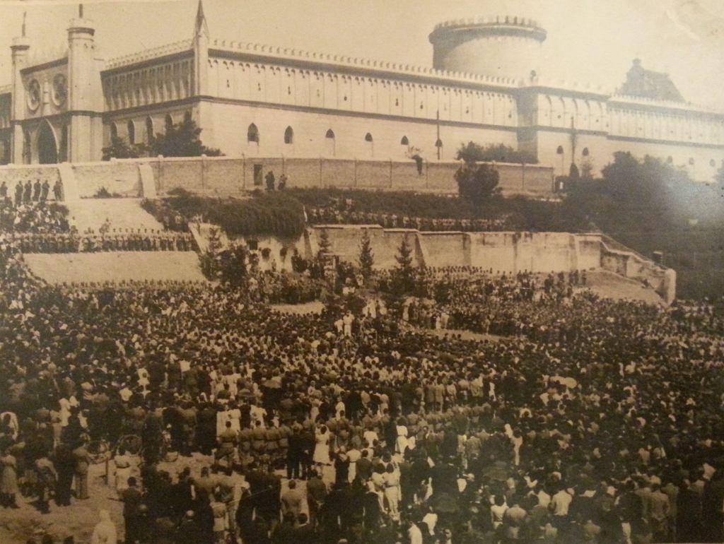 Msza za zamordowanych podczas ostatniej egzekucji, fot. NN