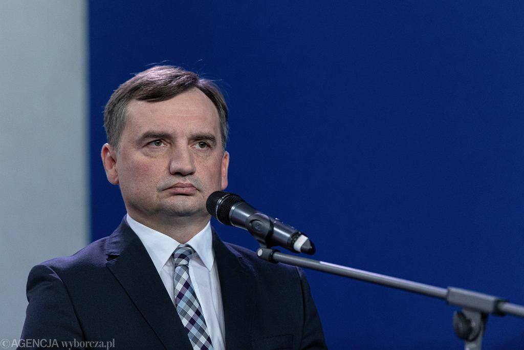 Zbigniew Ziobro, prezes Solidarnej Polski